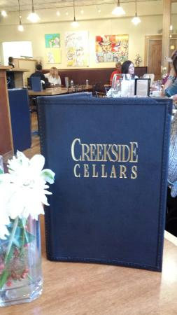Creekside Cellars Winery and Cafe: Go today!