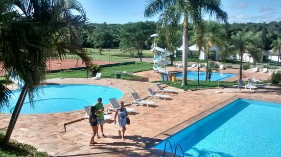 Hotel Vale das Aguas : Piscinas