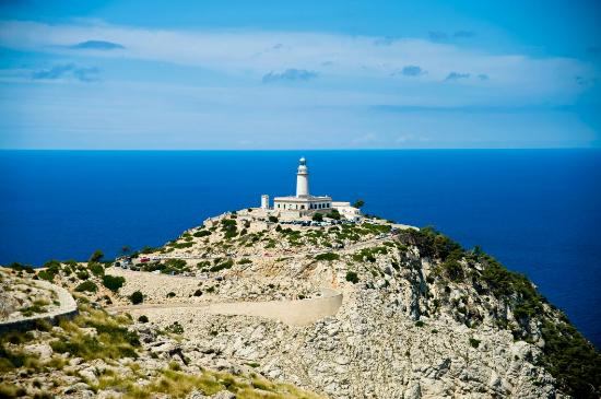 Majorca, Spain: Formentor lighthouse