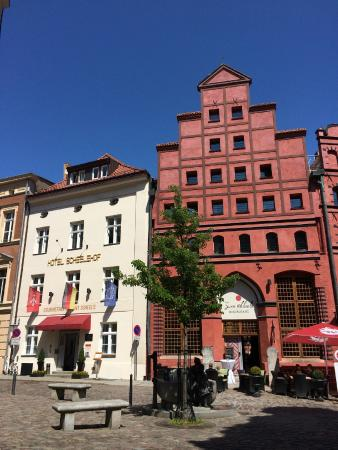 Hotel Scheelehof Stralsund: Incredible history and beauty is around every corner.