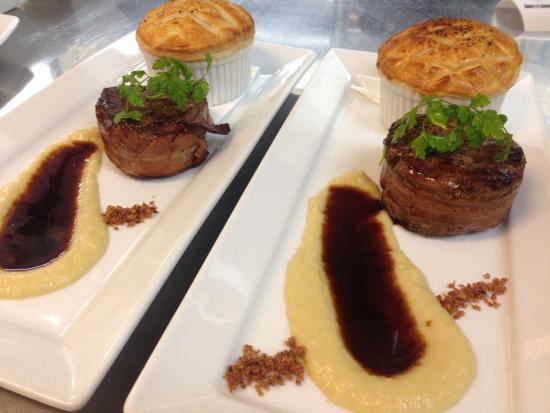 Poppies Cafe: New Zealand Angus beef fillet