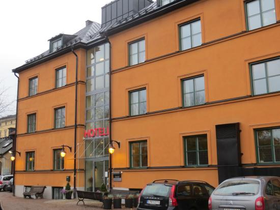 Akademihotellet : Exterior of the hotel