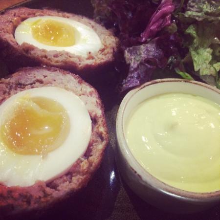 Tom O' The Wood: Starter homemade scotch eggs