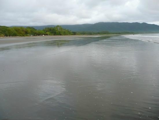 Cabinas Cristina Playa Tambor: La plage