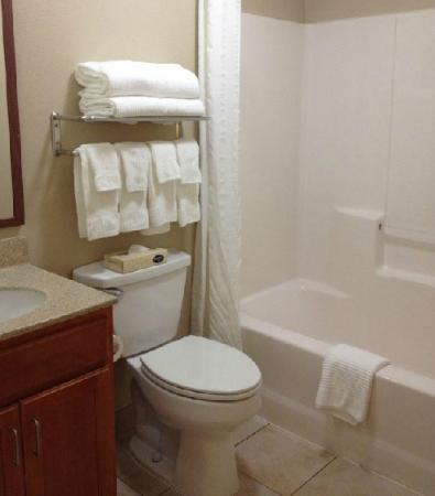 Candlewood Suites Indianapolis : Bathroom