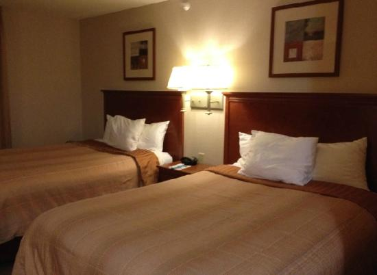Candlewood Suites Indianapolis : Sleep area