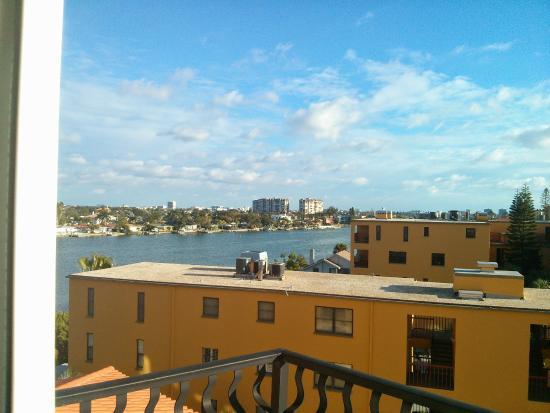 Palms of Treasure Island: View from master bedroom balcony