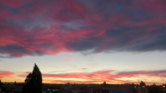 Hostel Hi Patagonia Suites: Vue de la terrasse