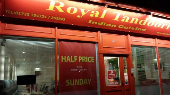 Royal Tandoori Scarborough: 1/2 PRICE on Sunday