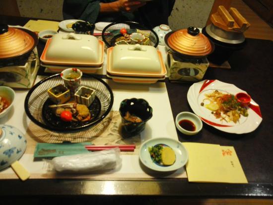 Takinami: 夕食の一部