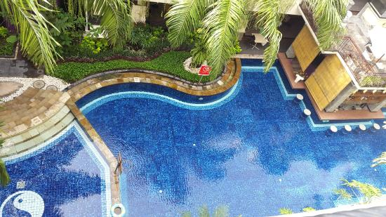 Permata Kuta Hotel by Zeeti International: View from the balcony