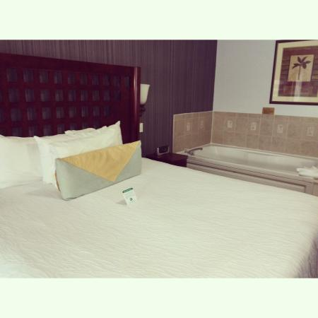 La Copa Inn Beach Hotel: King tempurpedic