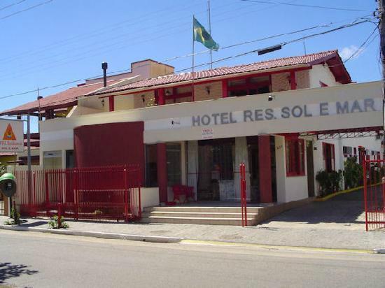 Hotel Residencial Sol e Mar : Hotel Mar e sol