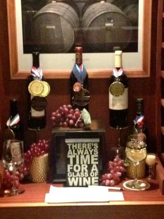 Hawk Haven Vineyard and Winery: The winery and its award winning wines