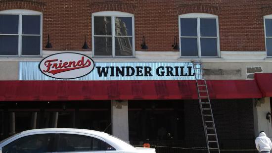 Friends American Grill In Winder Ga