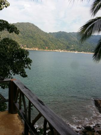 El Jardin Yelapa: From the Eagles nest balcony