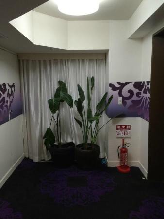 Centurion Hotel Ueno : Near elevator