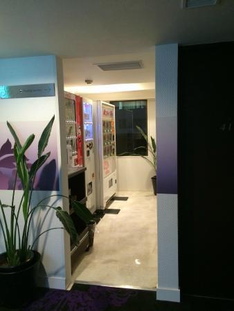 Centurion Hotel Ueno : Vendor machines