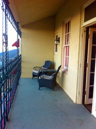Huge Balcony Picture Of Jerome Grand Hotel Jerome Tripadvisor