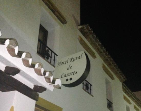 Hotel Rural Casares: The hotel's sign