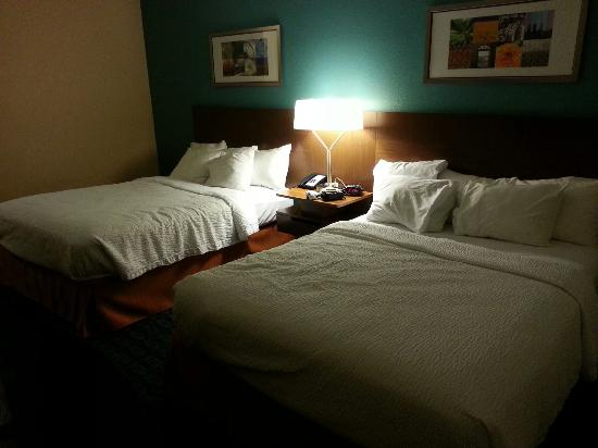Fairfield Inn & Suites Branson: Comfy beds