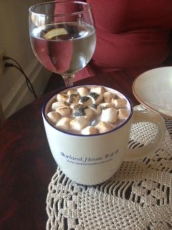 The Borland B&B & Brunch House : Hot Chocolate!