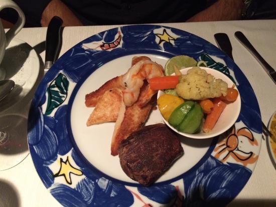 Restaurante Jurgen's: Mar y tierra