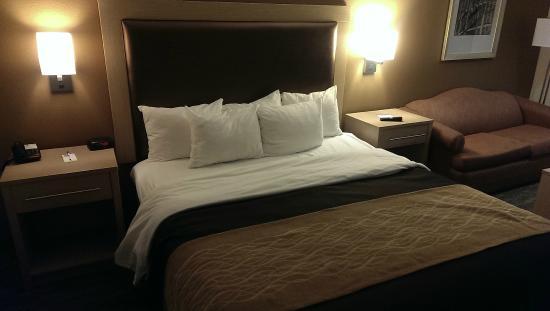 كومفورت إن بيتش/بوردواك إريا: Comfortable bed