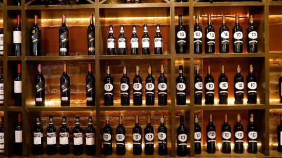 Cava de vinos de la casa picture of el diez mexico city - Cavas de vinos para casa ...