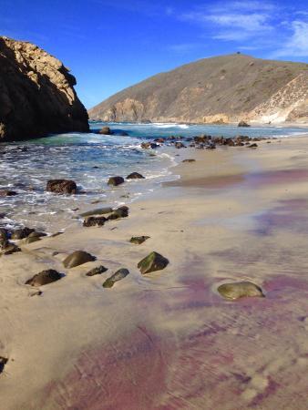 Pfeiffer Beach Purple Sand