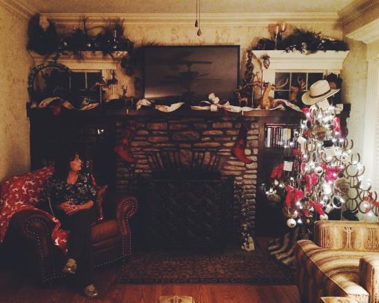 The Branson House: Cozy Christmas setting ❤️