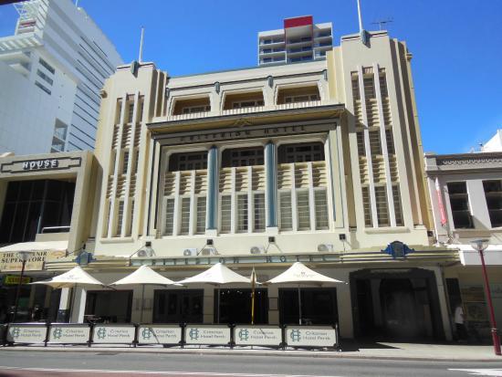 Criterion Hotel Perth: Criterion Hotel. Perth