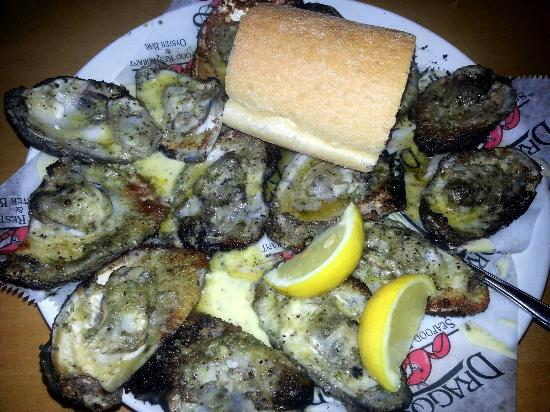 Drago's Seafood Restaurant : Their famous charbroiled oysters...yummy
