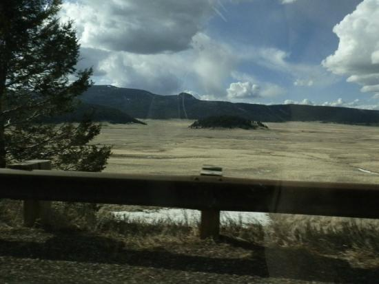 Valles Caldera National Preserve: The elk herd are in this photo
