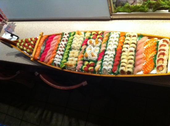 Kaminari Sushi: catered for all events
