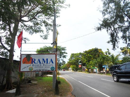 Rama International Beach Resort Main Entrance Of