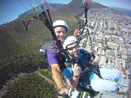 Cape Town Tandem Paragliding: Awesome