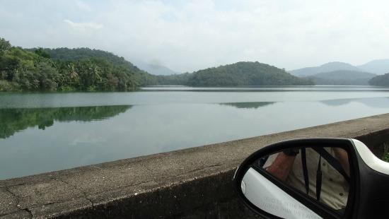 Neyyar Dam: Водохранилище.