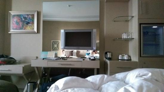 WOW Istanbul Hotel: TV inside room