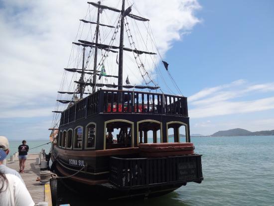 Canasvieiras, SC: barco