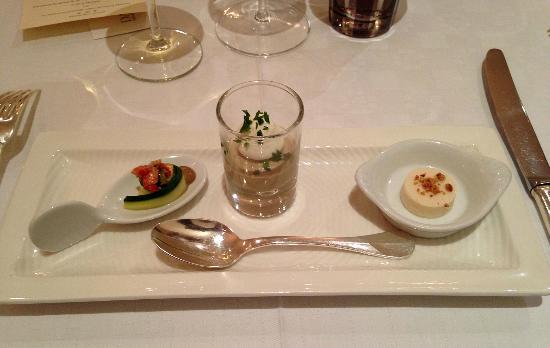 Restaurant Claude Darroze: Prélude gourmand