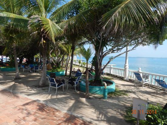 Hotel Coco Liso: Momento relaxante na sombra