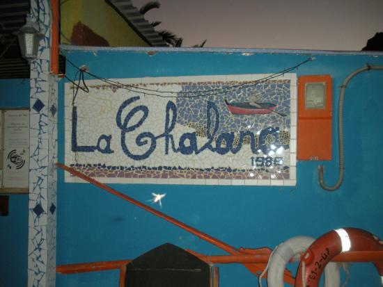 La Chalana: Strandbaren