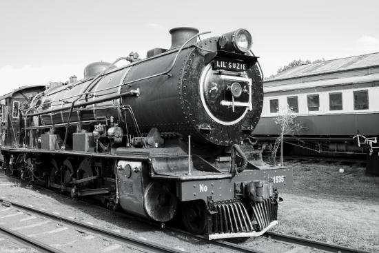 Magaliesburg, South Africa: steam train