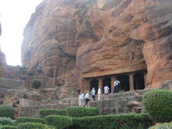 Krishna Heritage: the 6th centuary I Badami rock cave