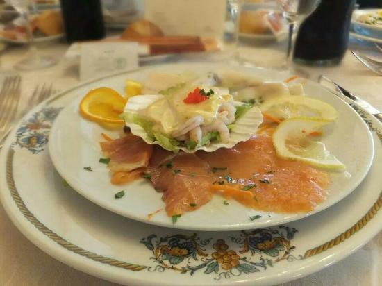 Hotel Primavera Dell'Etna: Antipasto di mare