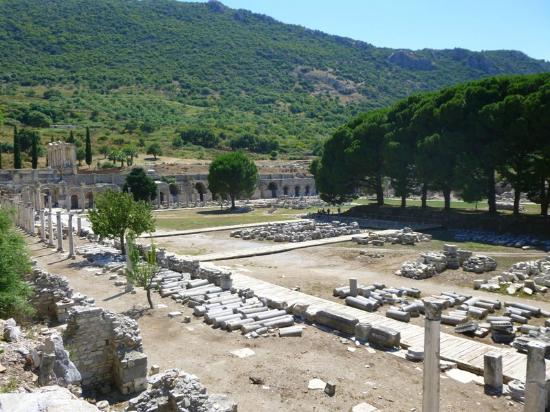 Lower Agora (Market Square) - Picture of Ancient City of ...