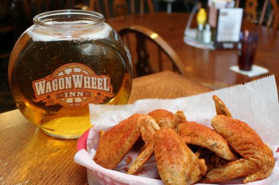 Wanglers Wagon Wheel : Our Famous Dry Rub Wings, fresh, whole, unique!!!