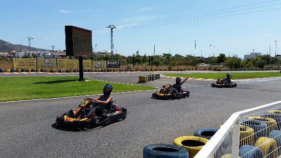 Karting Benikarts: Les triplés