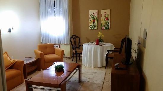 Plaza Sul Hotel: Sala  da  suíte